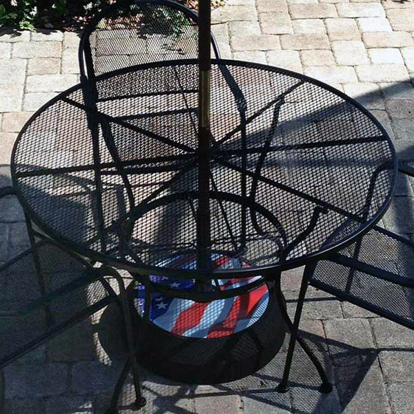 Umbrella Bases | RubberForm Recycled Products, LLC