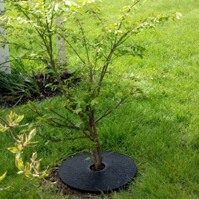 No Mow Weeds Circular Disc | RubberForm Products