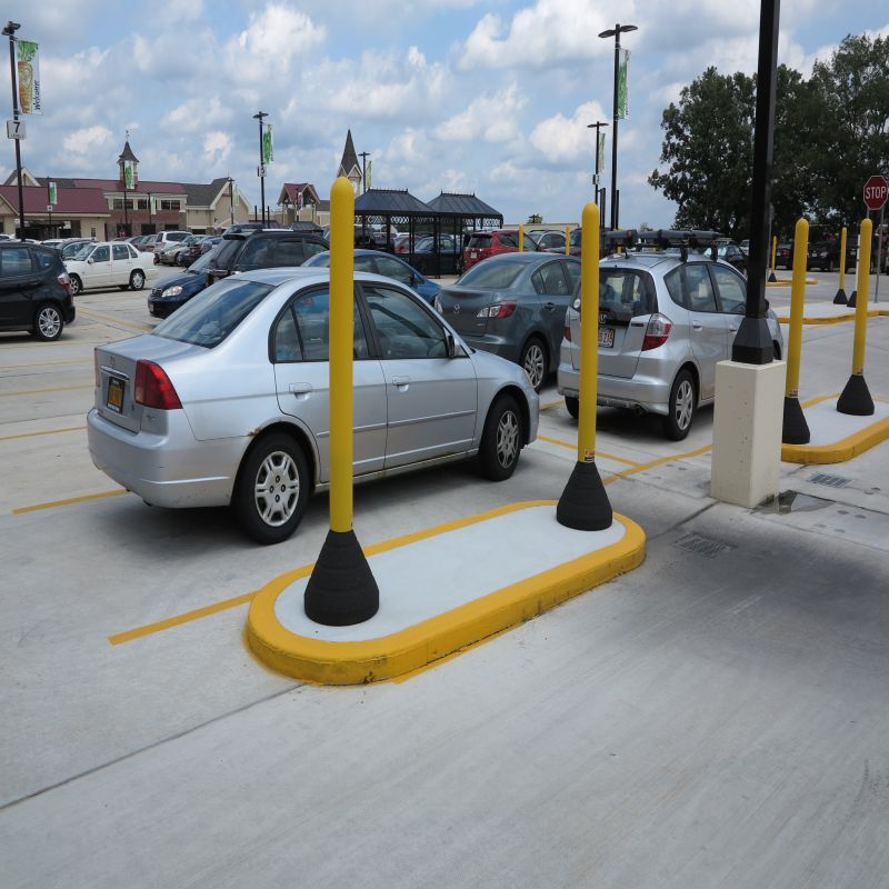 Portable Bollard Base   RubberForm Recycled Products