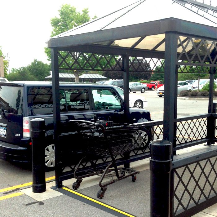 Shopping Cart Corral Bump | RubberForm Products