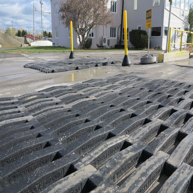 Trackout Control Mat | RubberForm Recycled Products