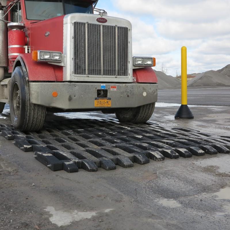 trackout control mat