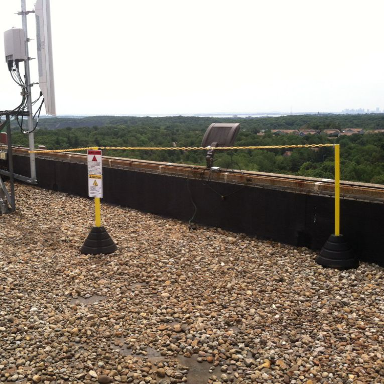 Roof Warning Line Systems | Rubberform Products