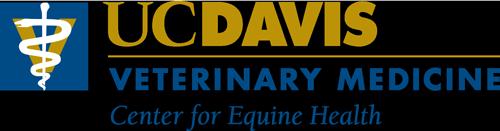 UC Davis Veterinary Medicine Center for Equine Health Logo