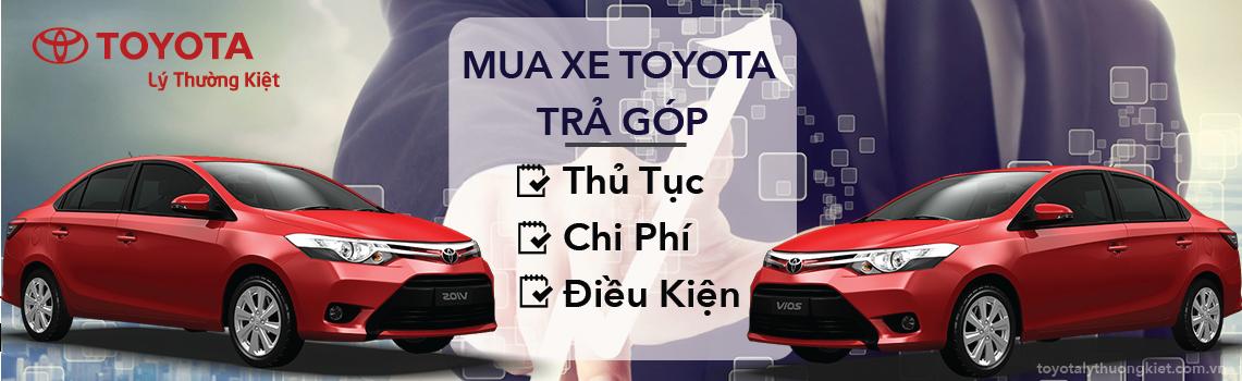 Mua xe Toyota tra gop