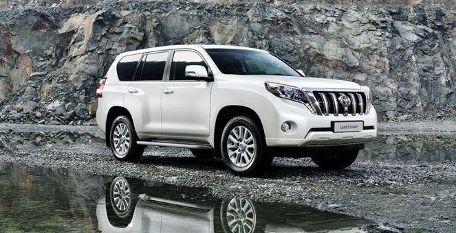 Giá xe Toyota nhập khẩu Land Cruiser VX