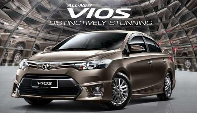 dòng xe Toyota - bán xe vios