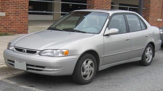 Xe Corolla Altis thế hệ thứ tám (E110; 1995-2000)