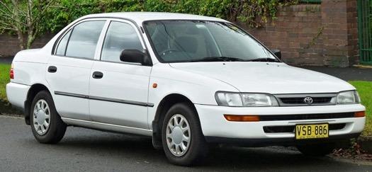 Xe Corolla Altis thế hệ thứ bảy (E100; 1991-1995)