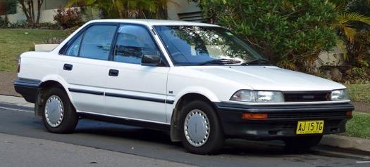 Xe Corolla Altis thế hệ thứ sáu (E90; 1987-1990)