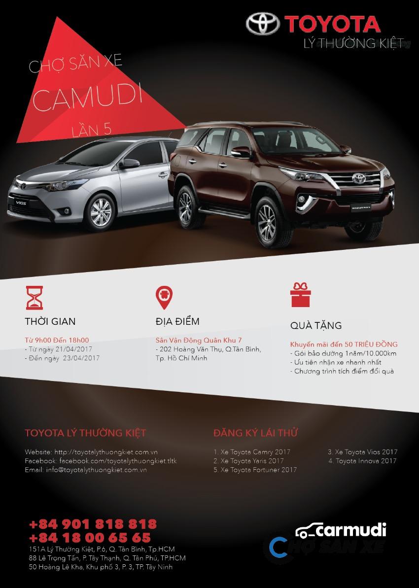 chợ săn xe đại lý Toyota LTK