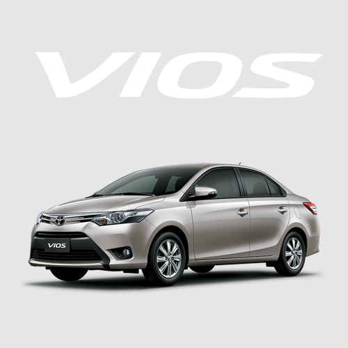 Toyota Vios E 2018 brown gold