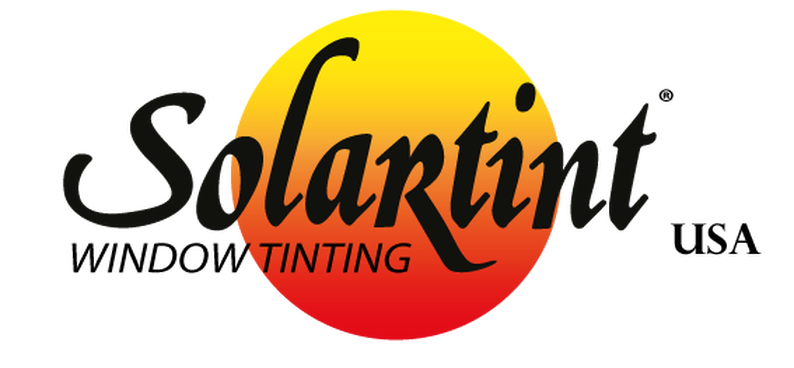 Solartint USA logo that identifies as a window tinting company.
