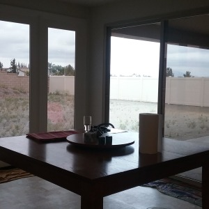 Picture of tint to reduce glare in a house in Murrieta CA