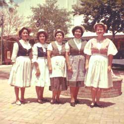 Rosemary and Team at Hemis Fair in 1968