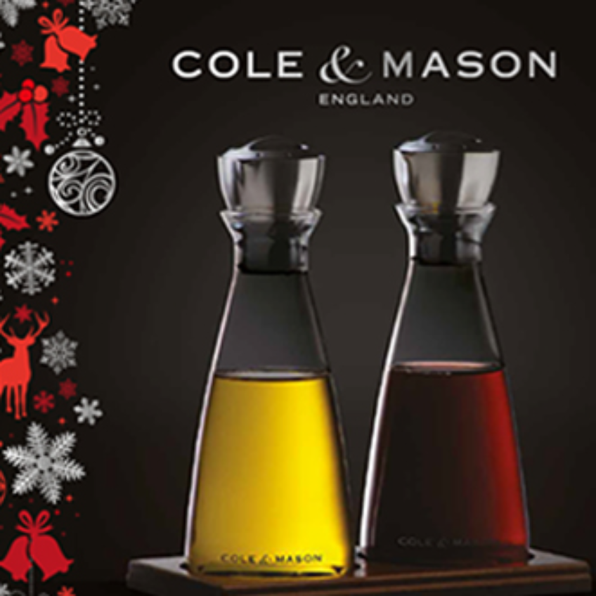 Cole & Mason Gift Set Branding by Starke Creative