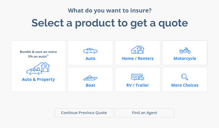 Progressive.com Quote Form