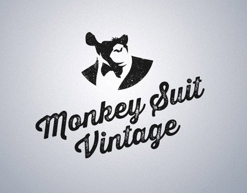 Monkey-suit-vintage-logo
