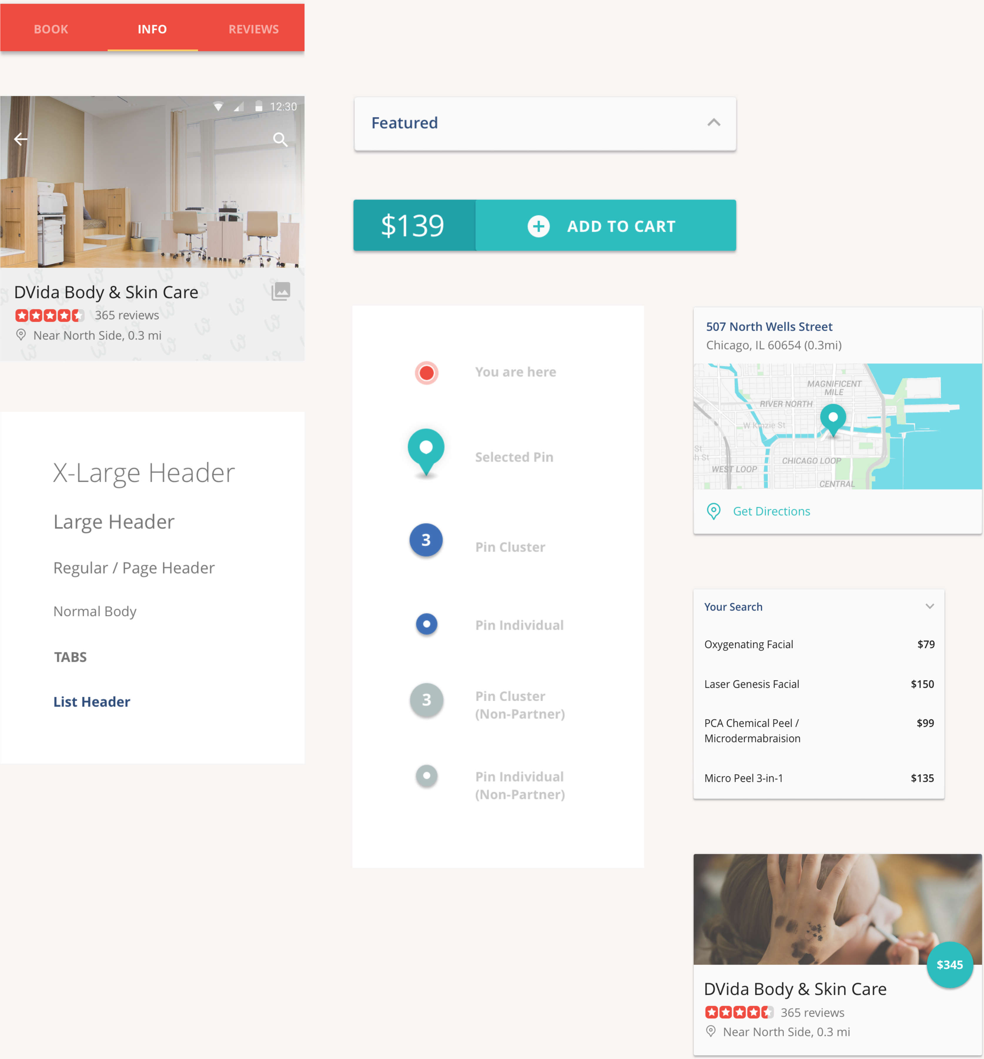 Android App Material Design Elements