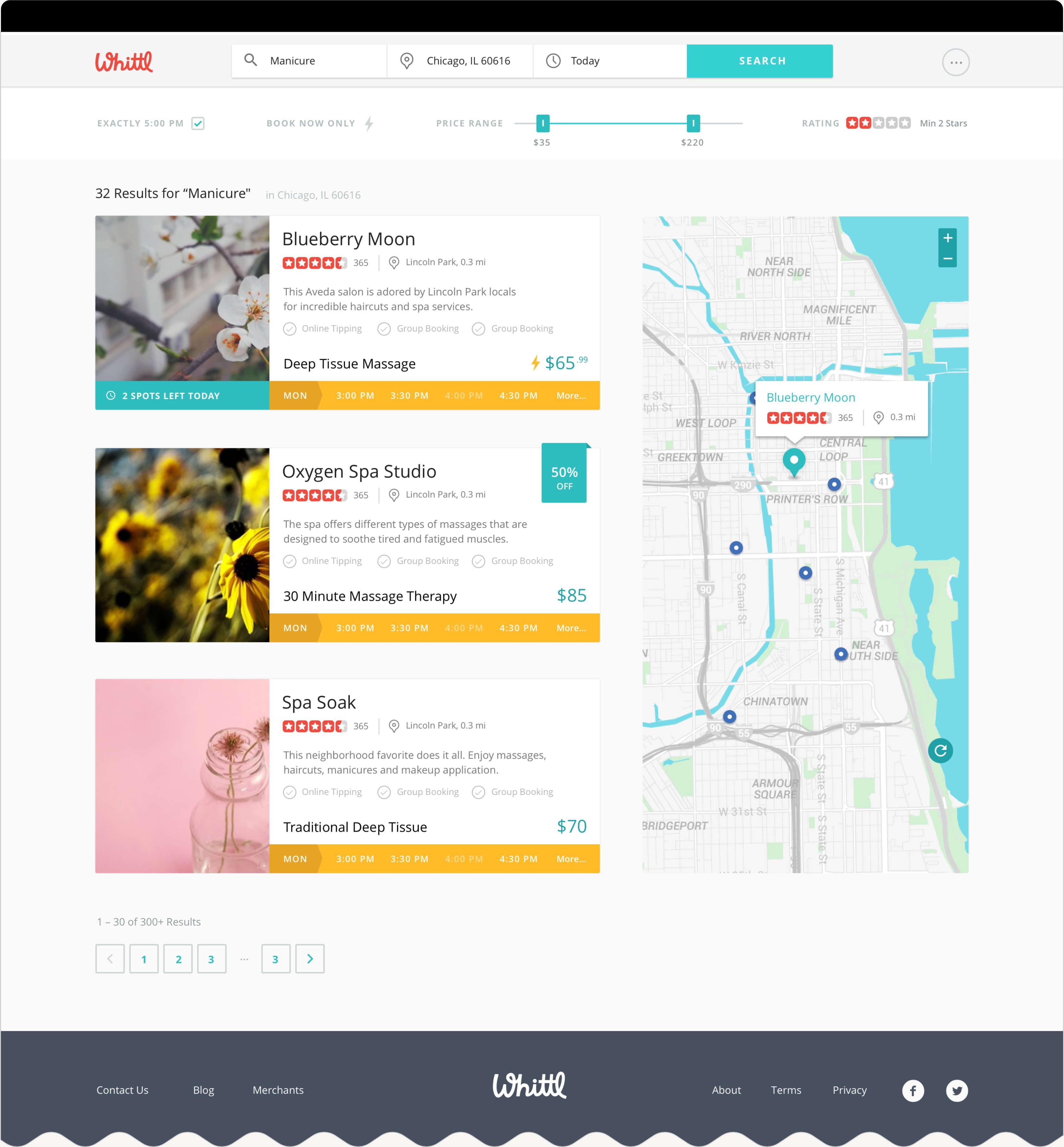 Web Design Map