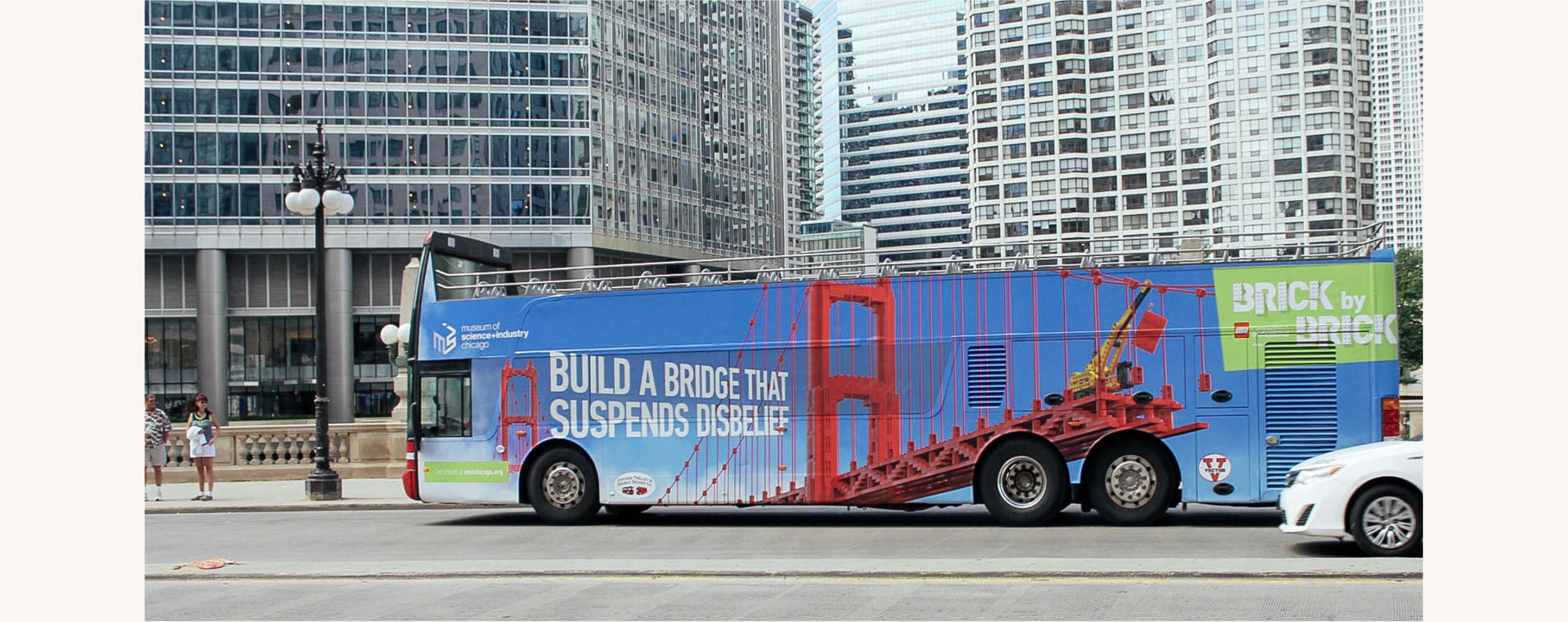 LEGO Bus OOH Ads