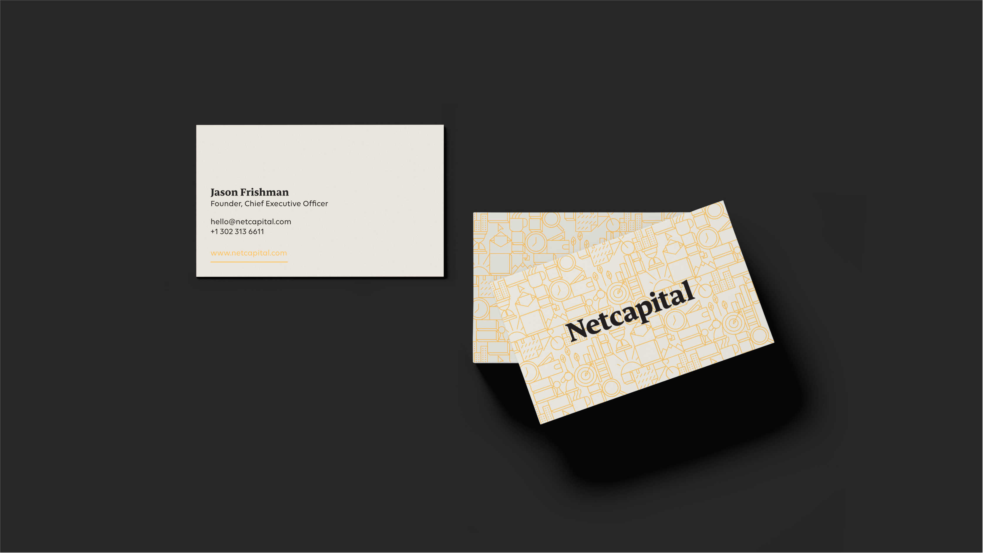Netcapital Business Card Design