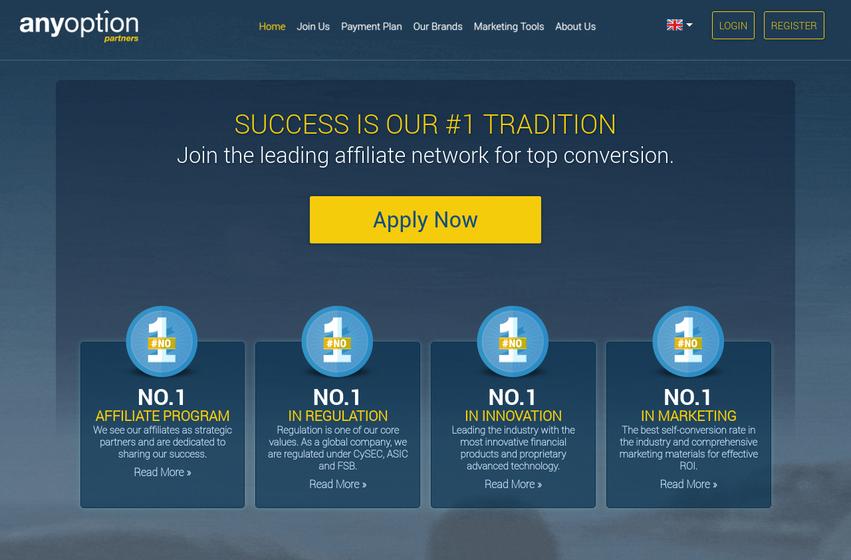 AnyOption Affiliate Program