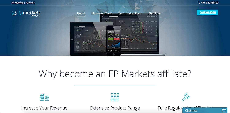 FP Markets Affiliate Program