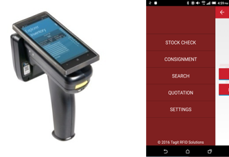 Tagit Handheld Scanner and Mobile Application