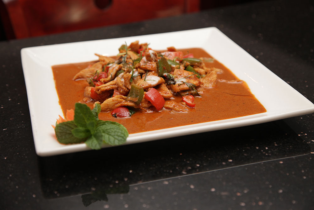 The Tropical's Chicken Red Curry