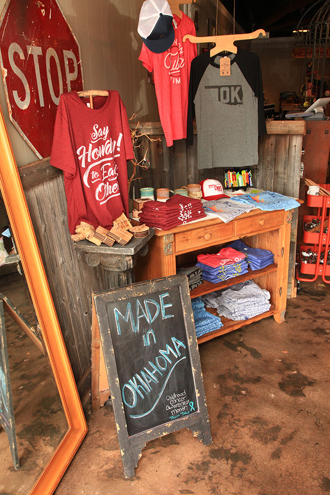 """Nestled under the whimsical string lights of Main Street in Jenks, Lokal and Main translates the feeling of """"home"""" into tangible gifts, goodies, apparel and more inside the stylish boutique."""