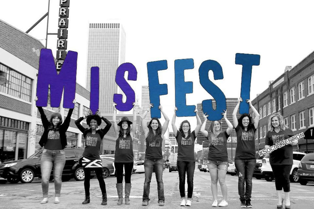 """As an acronym for the formal title of """"Music Is She,"""" MisFEST's primary purpose is to shine a spotlight on all women in the music industry."""