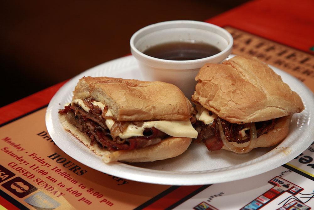Drip Beef Sandwich (Photo: Marc Rains)