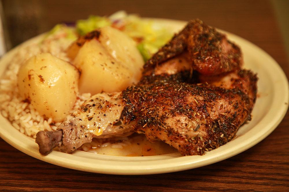 Chicken Oreganato (Photo: Marc Rains)