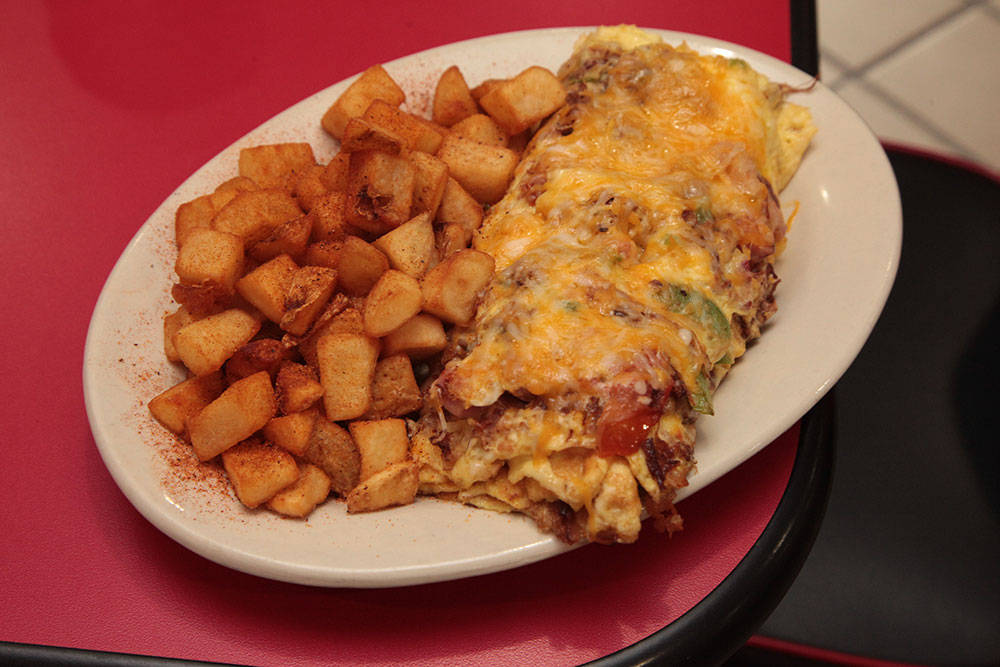 Freeway Cafe is one of the area's best-loved spots for a respectable diner meal.
