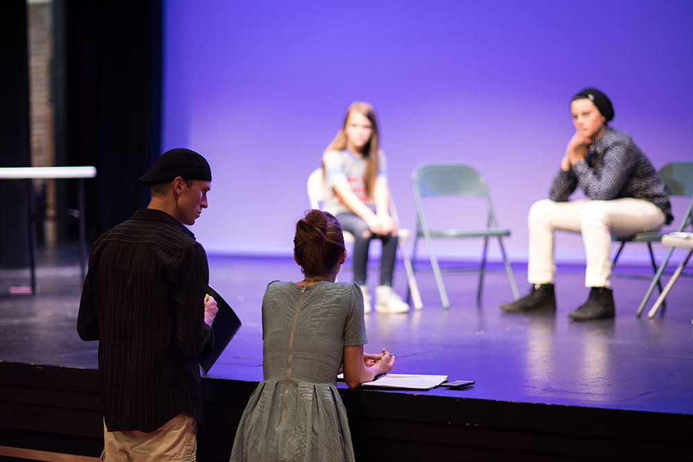 While some directors shy away from working with young actors, the Barkers actually seek them out. (Photo: Valerie Grant)