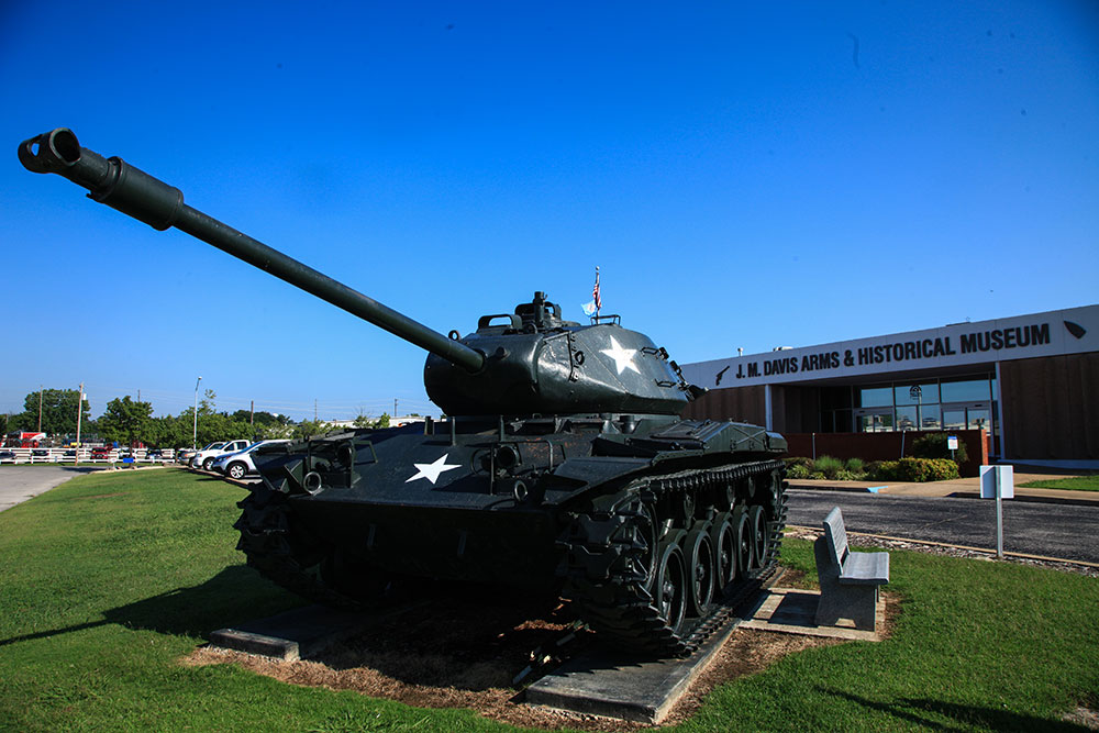 Since 1969, the museum has made its collection of over 14,000 weapons available to the public. (Photo: Marc Rains)
