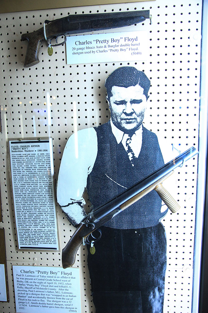The J.M. Davis Arms and Historical Museum in Claremore houses the largest privately-held firearms collection in the world. (Photo: Marc Rains)