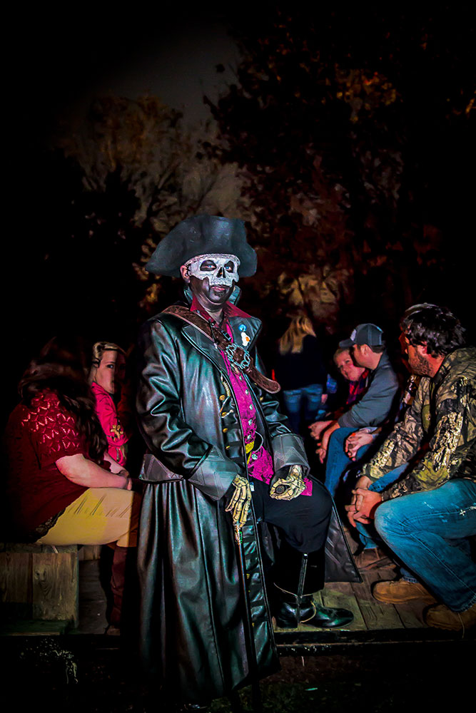 Although a few attractions may be too scary for little ones, the entire festival is considered kid friendly.