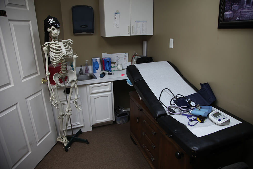 Contracted patients receive 24/7 access, as patients get Tate's personal cell number, and there's even the potential for home visits, if necessary. (Photo: Marc Rains)