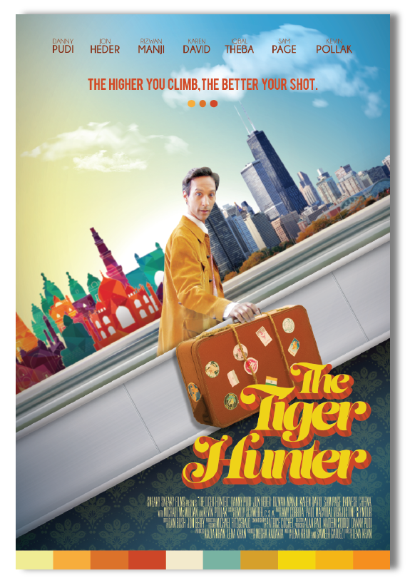 The Tiger Hunter with Danny Pudi - Official Poster