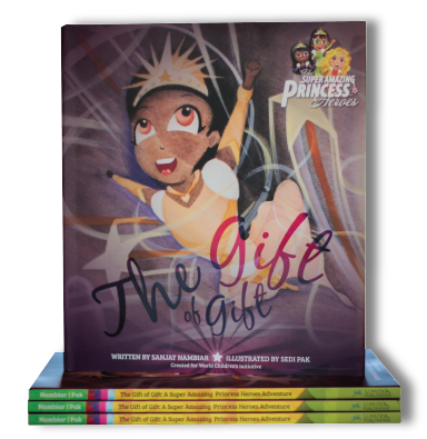 Super Amazing Princess Heroes - The Gift of Gift