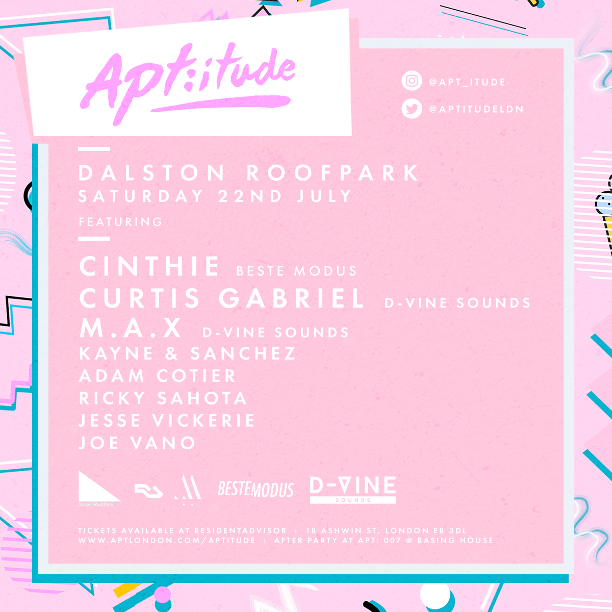 Apt:Itude x Rooftop Party
