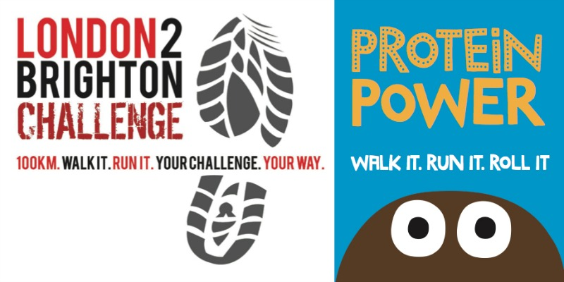 London 2 Brighton Challenge and The Protein Ball Co
