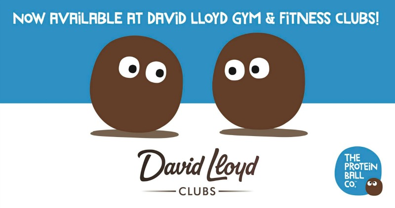 Protein balls at David Lloyd Clubs