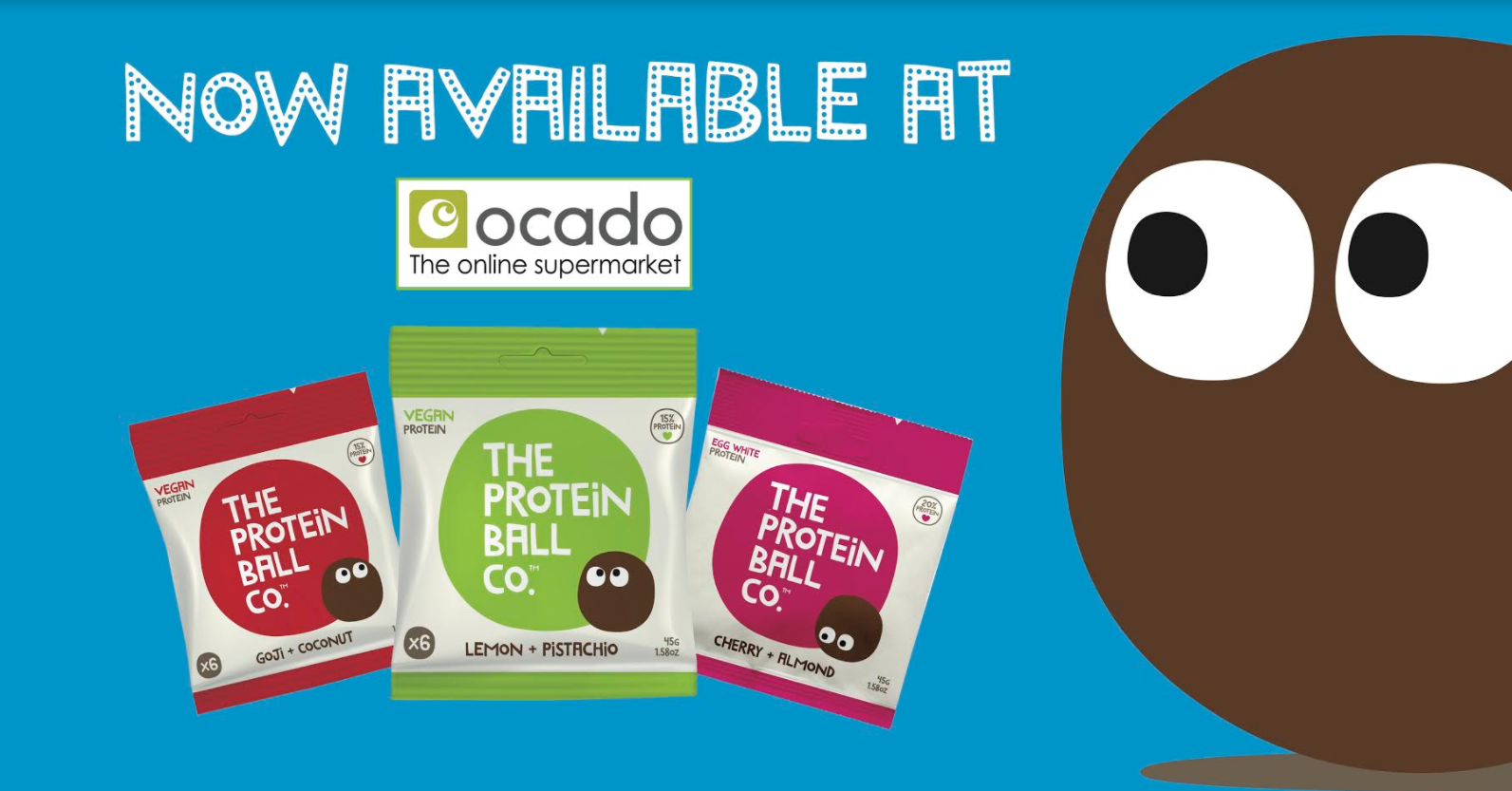 The Protein Ball Co launch with Ocado UK