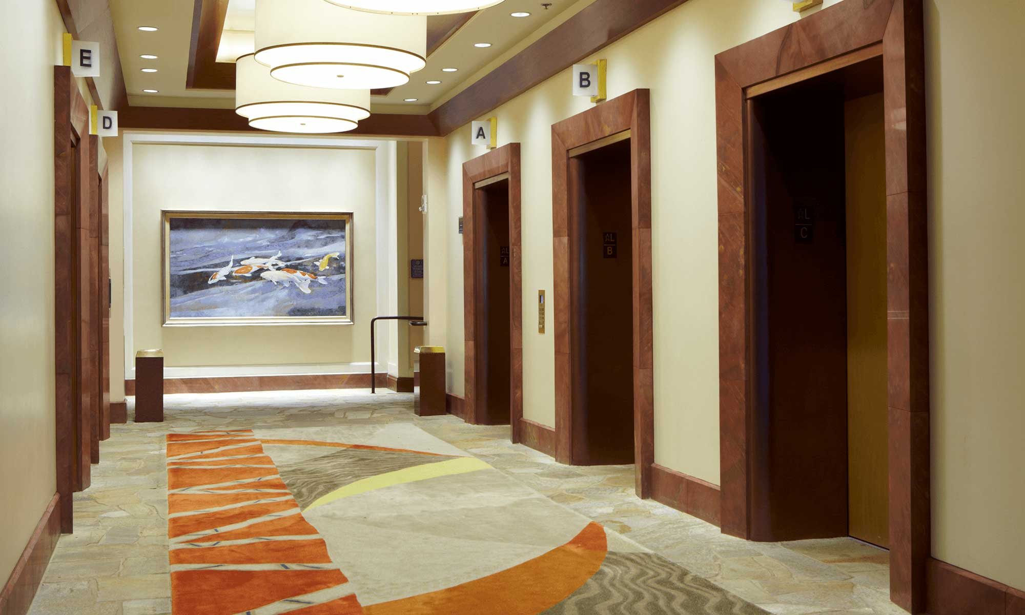 Hilton Hawaiian Village Rainbow Tower Lobby And Room Architecture Interior Design Layout