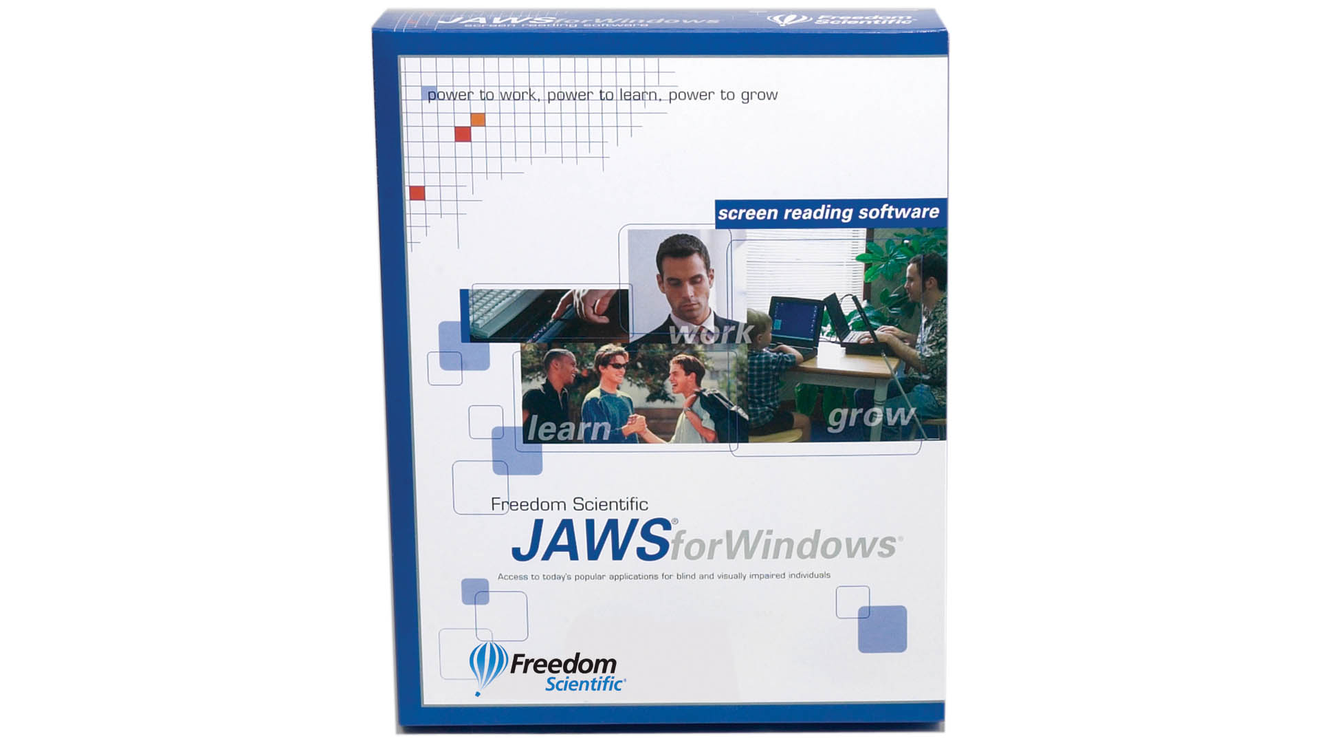JAWS Home software box