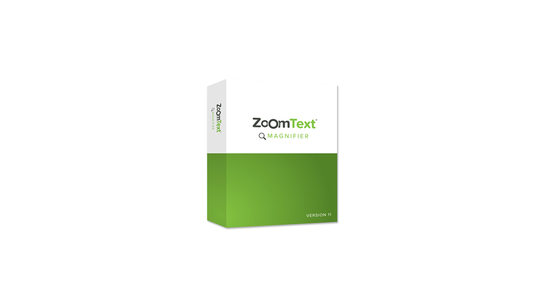 Picture of ZoomText Magnifier Box.