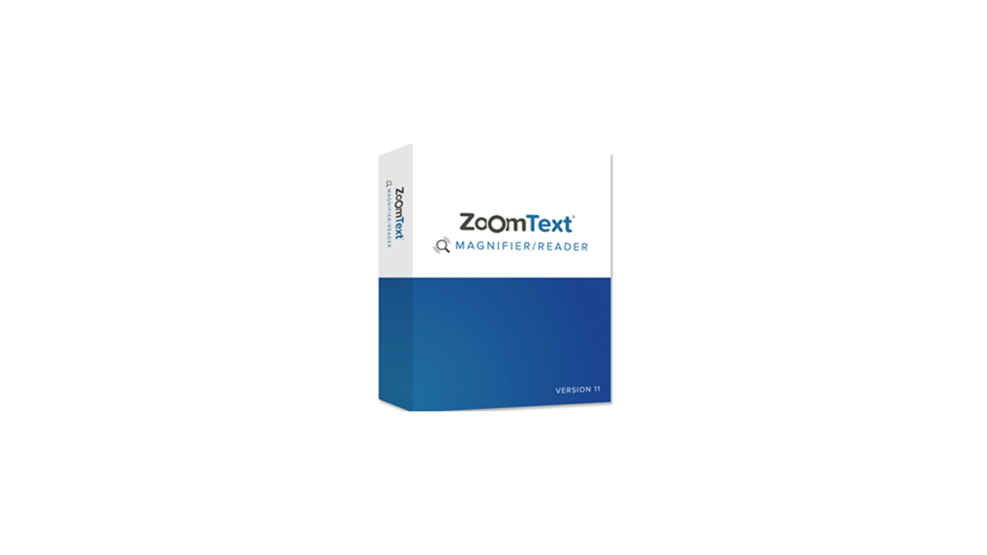 Picture of ZoomText Magnifier/Reader Box.